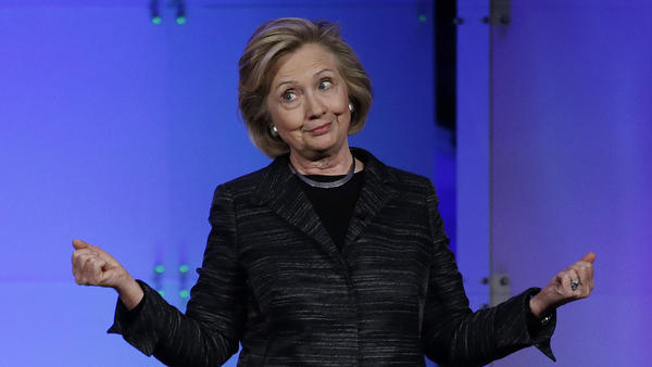 """Hillary Clinton: """"I took the unprecedented step of asking that the State Department make all my work-related emails public for everyone to see."""""""