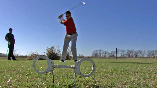 Golfers at the Prison View Golf Course near the Louisiana State Penitentiary in Angola, La., in a photo released by the Golf Channel.