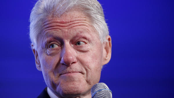 """Former President Bill Clinton wants to keep his foundation running, even if his wife becomes president and """"whether I'm running it or not."""""""