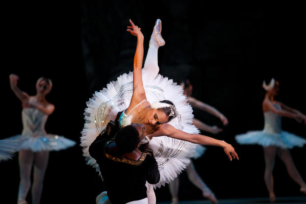 This is the first year that two African-American dancers will star in The Washington Ballet's production of <em>Swan Lake</em>: Misty Copeland, soloist with American Ballet Theatre, dances the dual role of Odette and Odile; Brooklyn Mack of The Washington Ballet is Prince Siegfried.
