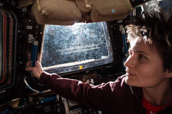 Italian astronaut Samantha Cristoforetti sees the sun rise every 90 minutes on the International Space Station. But she can't get a decent cup of coffee to go with the view.