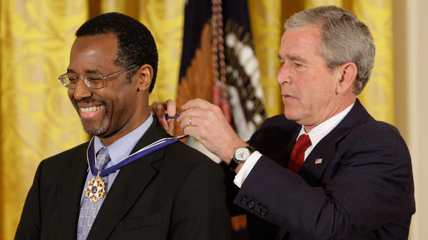 Carson was awarded the Presidential Medal of Freedom in 2008.