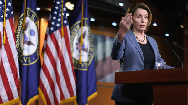 """""""Republicans have been very much against Amtrak for a very long time,"""" Democratic leader Nancy Pelosi said."""