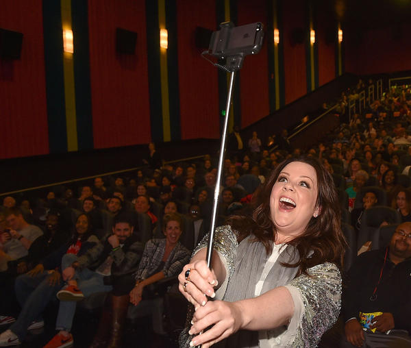 "Actress Melissa McCarthy introduces special ""Spy"" screening at Regal Atlantic Station on March 30, 2015 in Atlanta, Georgia. (Paras Griffin/Getty Images for 20th Century Fox)"