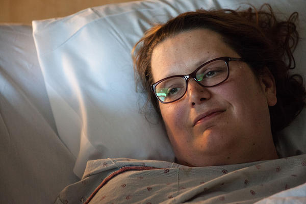 """Over the moon excited, terrified, scared, emotional,"" is how Jetta'Mae Carlisle says she felt before her surgery."