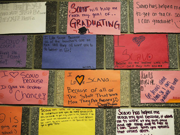 Students say Scavo is no cakewalk. They feel important, cared for and empowered. And that makes them want to come back.