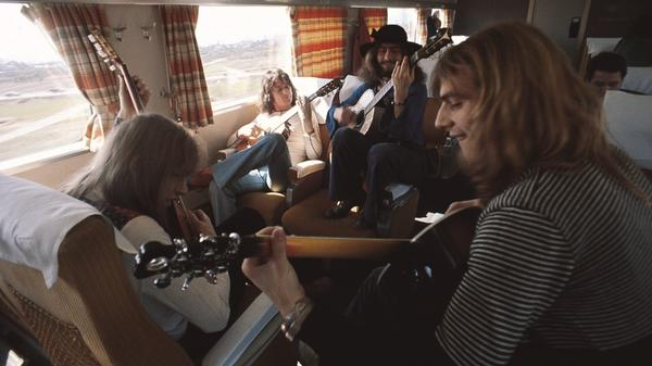 In the fall of 1972, Yes' tour took the band from Canada to North Carolina, Georgia, Tennessee and New York.