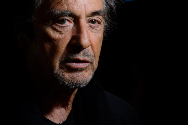 Al Pacino is pictured on May 18, 2015 in London. (Jonathan Short/Invision via AP)