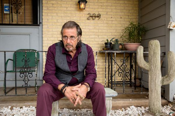 """Al Pacino (A.J. Manglehorn) is pictured in a scene from David Gordon Green's """"Manglehorn."""" (Courtesy of Ryan Green. An IFC Films release.)"""