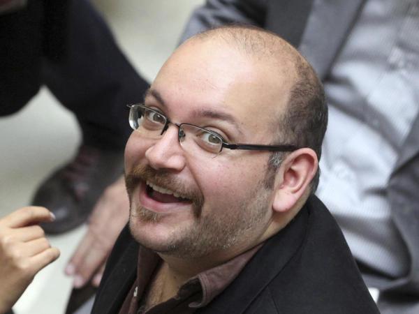 Jason Rezaian, Tehran correspondent for <em>The </em><em>Washington Post</em>, is seen April 11, 2013.