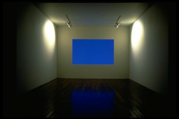 "James Turrell manipulates light in his 1983 installation <a href=""http://www.mattress.org/archive/index.php/Detail/Collections/561"">Danaë</a>."
