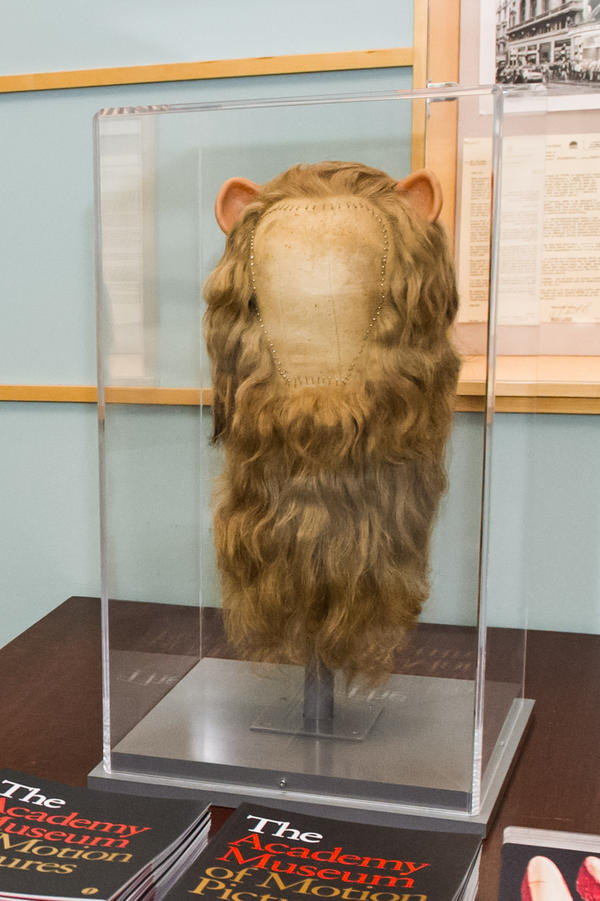 The Cowardly Lion's mane in <em>Dorothy and the Wizard of Oz</em> was made from real human hair.