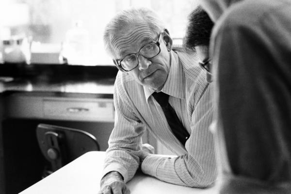 Researcher John Clements in the early 1980s, after he figured out that lungs need surfactants to breathe.