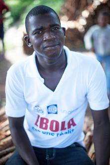 """Mohamed Soumah, 27, was the first person to be vaccinated in the Ebola vaccine trial. """"I was afraid,"""" he says. """"People in the village were saying that the injection was to kill me."""""""