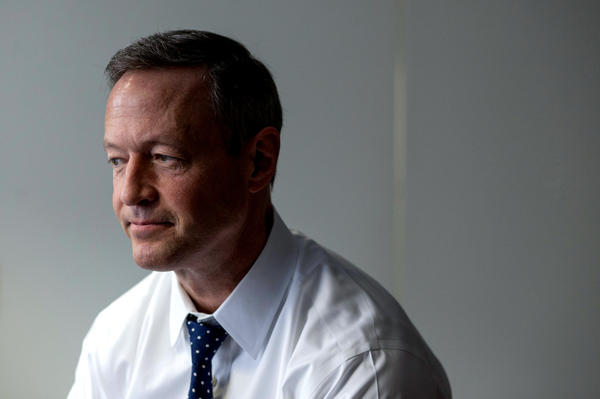 Former Baltimore Mayor and Maryland Gov. Martin O'Malley earlier this year.
