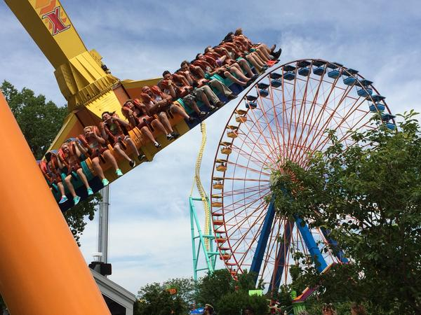 Cedar Fair, the parent company of Cedar Point in Sandusky, Ohio, reported record revenues for the first half of 2015.