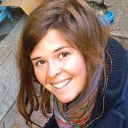 Kayla Mueller was 26 when she was killed.