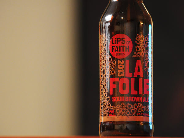 New Belgium's Lips of Faith La Folie is one of the sour ales now on the U.S. market.
