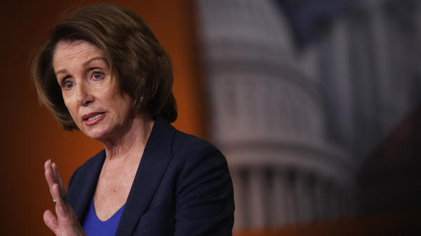 """""""A speaker is the speaker of the House ... he cannot give his gavel to a small percentage of his party,"""" House Minority Leader Nancy Pelosi, D-Calif. told NPR."""