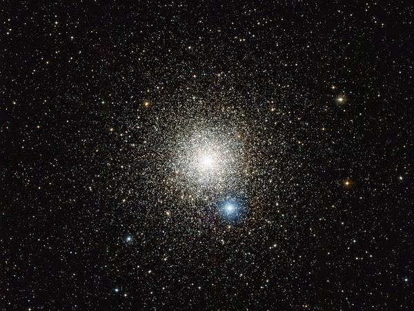 The globular star cluster NGC 6752 in the southern constellation of Pavo (The Peacock).