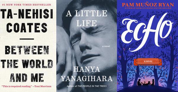 Ta-Nehisi Coates, Hanya Yanagihara and Pam Muñoz Ryan are the 2015 Kirkus Prize winners.