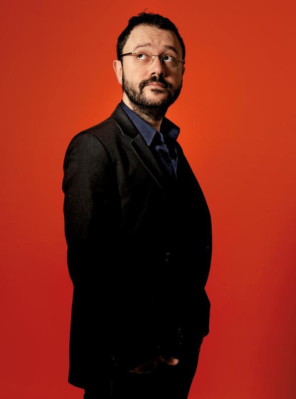 Author and cartoonist Riad Sattouf.