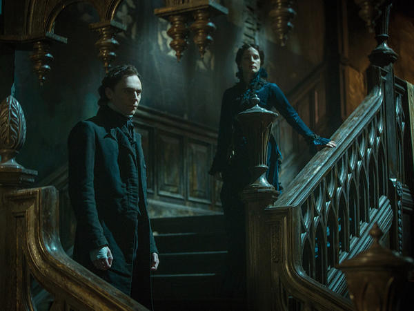 A still image from Guillermo del Toro's new movie, <em>Crimson Peak. </em>Twenty-two percent of audiences on any given weekend are Latino. But when it comes to horror films, that proportion jumps to as much as half the box office.