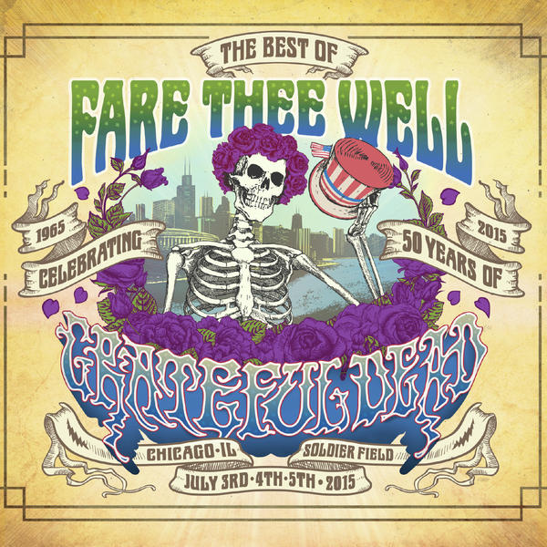 Cover art for <em>Fare Thee Well.</em>