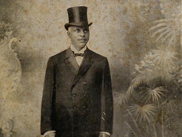 George Edwin Taylor in 1904.