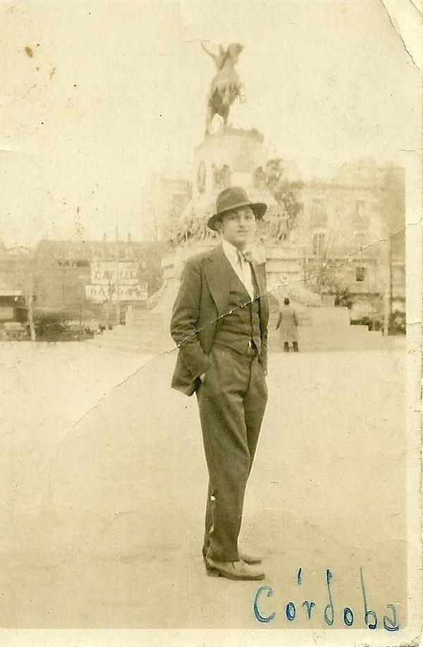 South America has a tradition of offering a haven to refugees, including my grandfather, Miguel Garsd, pictured here in Argentina, where he began practicing medicine in the 1930s. His family had fled pogroms in the Ukraine in the late 1800s.