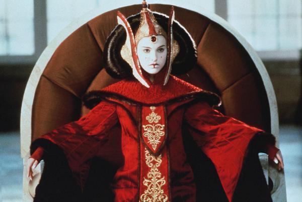 Natalie Portman as Queen Amidala in <em>Star Wars Episode I: The Phantom Menace</em> in 1999.
