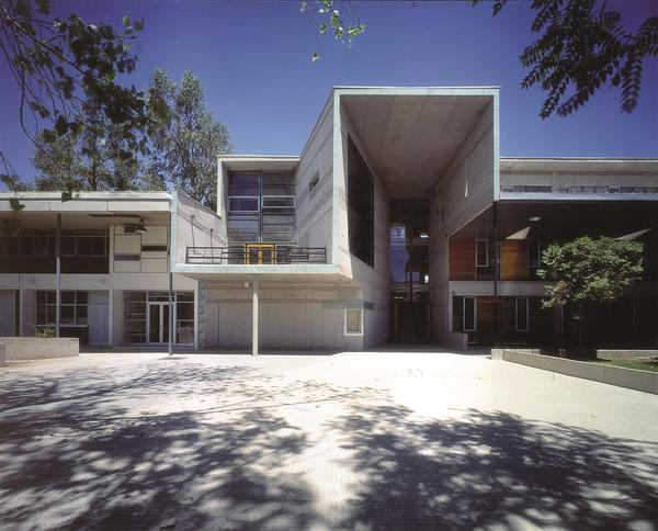 "<strong>Mathematics School, Universidad Católica de Chile, 1999:</strong> ""We identified the corridor as a design opportunity — as the moment where you see other people before they disappear into the isolated retreat of the individual working unit,"" Aravena says."