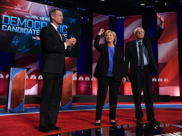Democratic presidential candidates on stage at the NBC News - YouTube Democratic Candidates Debate Sunday at the Gaillard Center in Charleston, S.C.