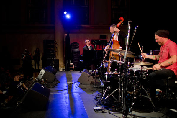 """Each of its members exhibited an individual project at Winter Jazzfest, so The Bad Plus assembled for a """"surprise"""" show."""