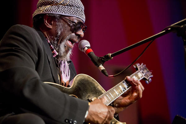 """James """"Blood"""" Ulmer performed a solo set of borderless, floating blues."""