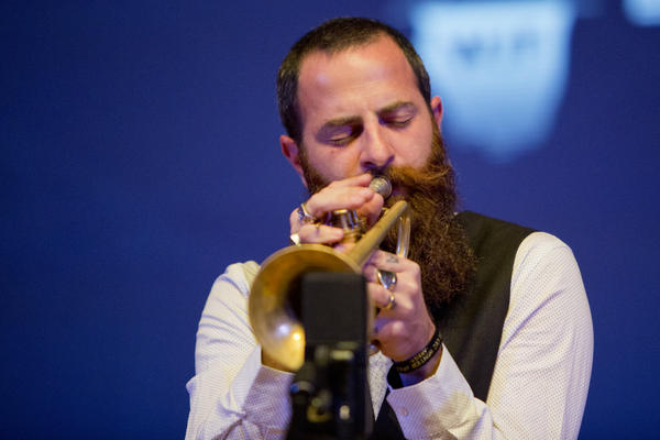 Trumpeter Avishai Cohen's new quartet repertoire is spacious and deliberate — perhaps fitting for the ECM Records stage on which he performed it.