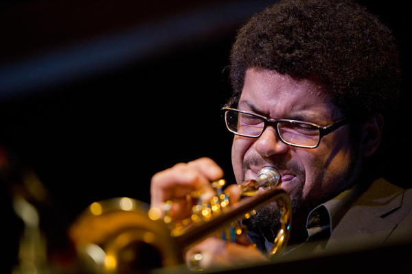 Trumpeter Josh Evans is one of two horn players in the front line of bassist Christian McBride's New Jawn.