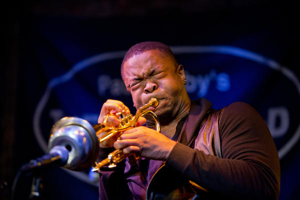 As part of the Revive Music showcase, trumpeter Maurice Brown played with the current iteration of his working band.