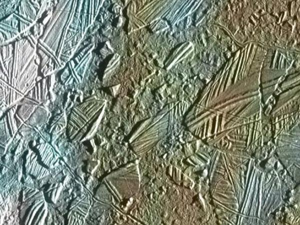 When the Galileo spacecraft swooped by Jupiter's frozen moon Europa in Nov. 1997, views of its blistered surface strengthened suspicions that a briny ocean harboring life could lie beneath an icy crust.