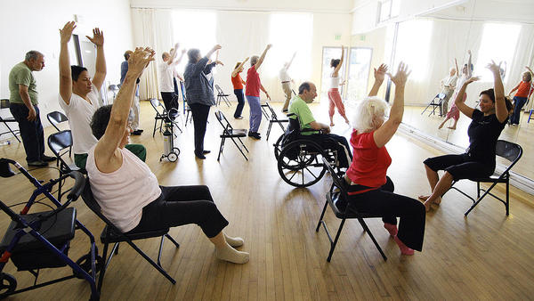 Scientists are only beginning to study whether dance does something for people with Parkinson's that more typical physical therapy can't achieve.