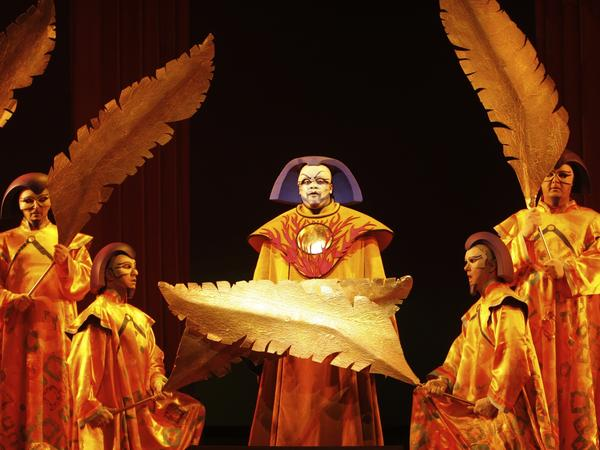 Morris Robinson in the Los Angeles Opera's 2009 production of <em>The Magic Flute.</em>