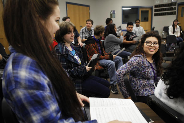Before Alejandra Galindo, 17, was identified as gifted, she was identified as an ELL, or English Language Learner.