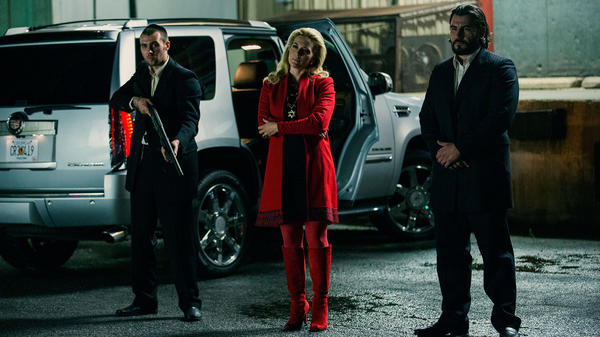 "The Russian mob plans a 999, code for ""officer down"", to pull of a heist in <em>Triple 9</em>."