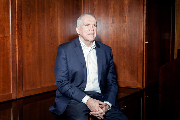 CIA Director John Brennan discussed ISIS, the FBI-Apple dispute over an iPhone, the state of the Iran nuclear deal, and his future plans as President Obama's term draws to a close.