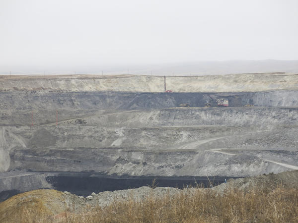 Although Alpha Natural Resources filed for Chapter 11 bankruptcy in August, operations at its Eagle Butte mine continue.
