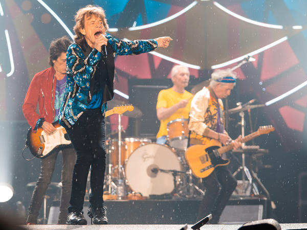 Mick Jagger of the Rolling Stones performs live on stage at Morumbi Stadium last month in Sao Paulo, Brazil.
