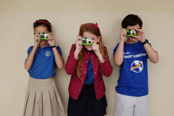 NPR Ed gave cameras to students in Mrs. D-B's fourth-grade class.