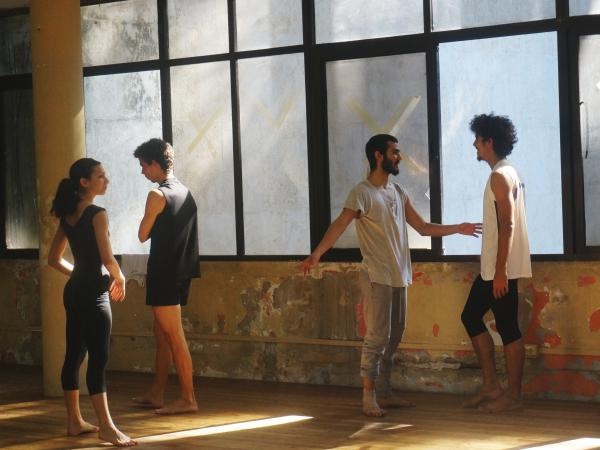 Members of Danza Contemporánea de Cuba prepare for class in Havana in November 2015.