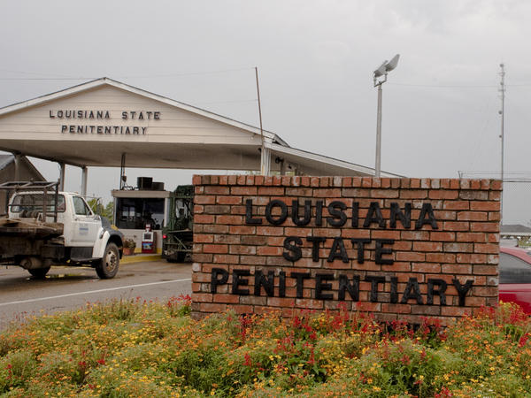 "A view of the front entrance of the Louisiana State Penitentiary in Angola, La., where prisoners known as the ""Angola Three"" served a combined total of 100 years in solitary confinement."