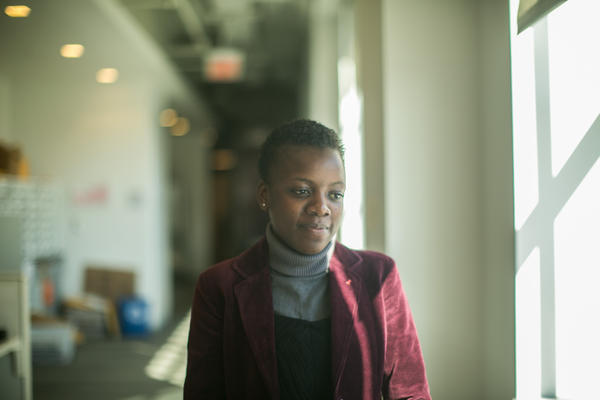 On her first visit to the U.S., Loyce Maturu of Zimbabwe was impressed by how friendly Americans are. She couldn't get over that they'll say hello to a stranger in an elevator.